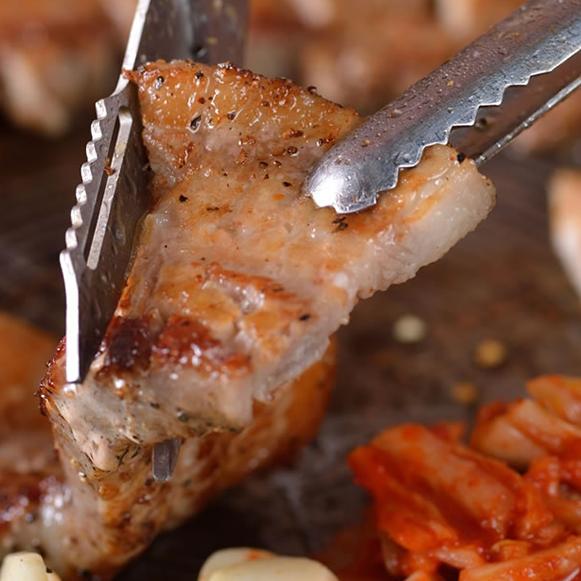 【鉄板焼肉】厚切サムギョプサル