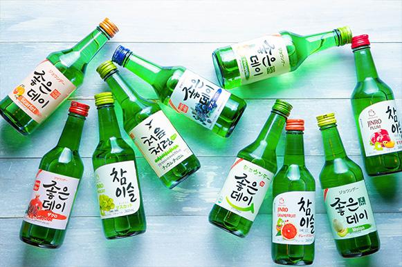 高麗時代の香り、韓国焼酎ソジュ