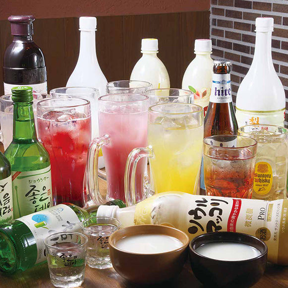 スペシャル飲み放題2時間 2,200円(税込)